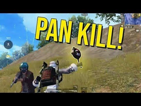 Pan kill pubg | pubg pan kills | pubg kill 2 players with pan | pubg kill with pan