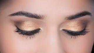 5-Minute Gold Eyes | Trend Alert