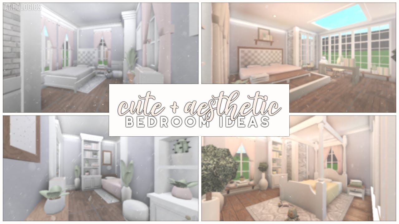 Bloxburg Cute And Aesthetic Bedroom Ideas Youtube