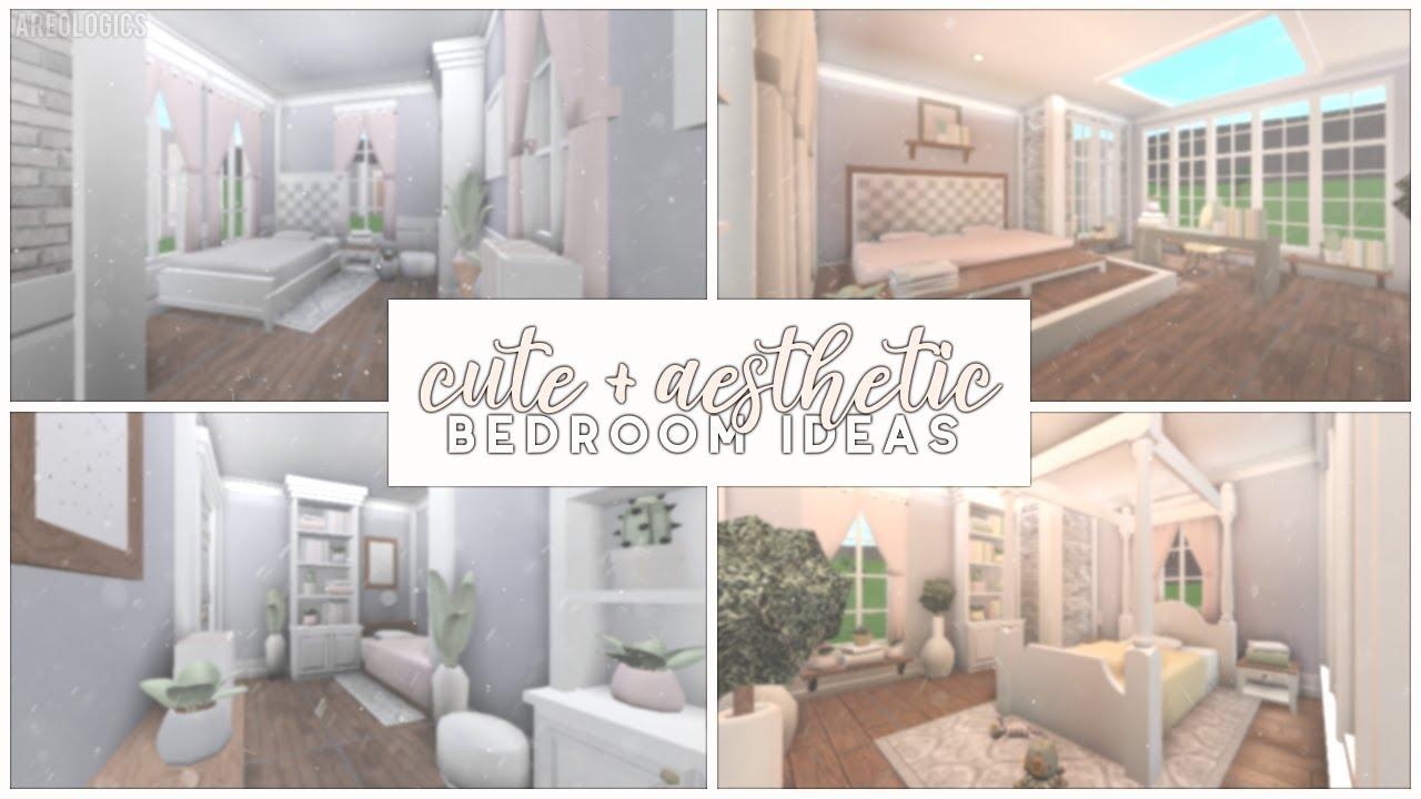 Bloxburg | Cute and Aesthetic Bedroom Ideas - YouTube