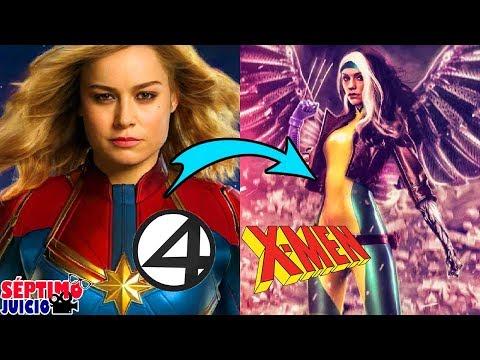 Las películas que Marvel STUDIOS debe hacer con los X men y 4 Fantasticos   SJ
