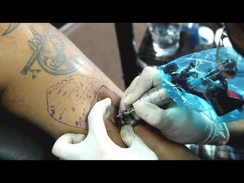 Making of Portrait Tattoo Video