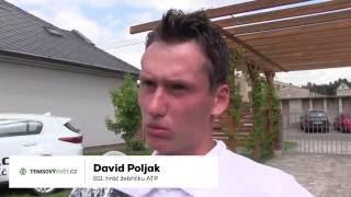 David Poljak po prohře v prvním kole na turnaji Futures v Ústí n. O.