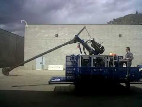 Core Drill Power Assisted Wire-line Tower Lift/Lower