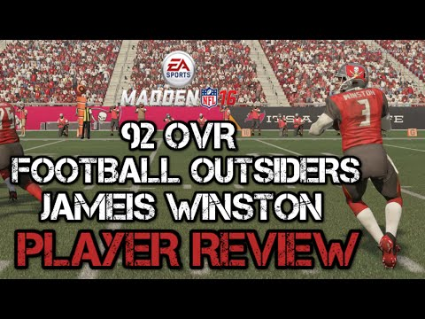 92 OVR Football Outsiders Jameis Winston | Player Review | Madden 16 Ultimate Team Gameplay | MUT 16