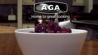 Aga Christmas Meal Made Easy – Bread & Cranberry Sauce