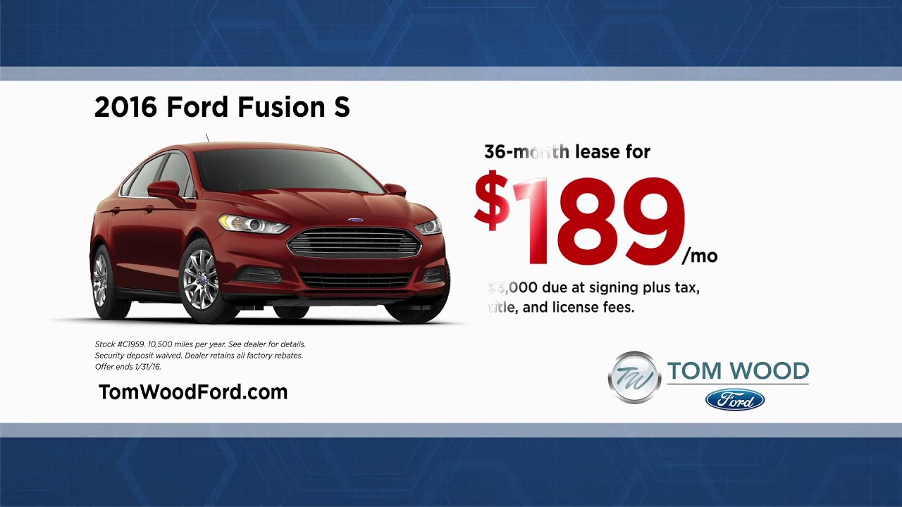 Find Great Deals At Tom Wood Ford Youtube