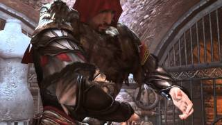 Assassins Creed Brotherhood pc game, Romulus armor and weapons cinematics