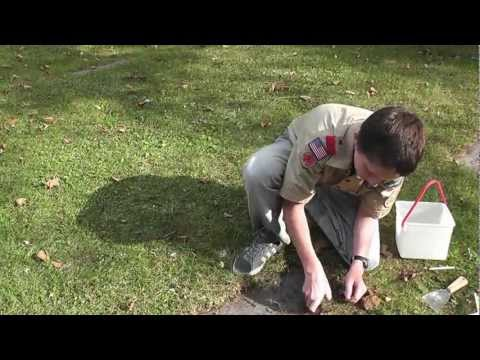 Grave Marker Cleaning Tutorial