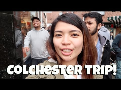 Colchester Town Centre with friends_VLOG 11_