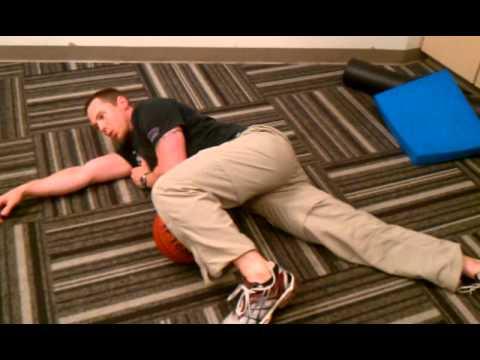 SAFE Rehab - Hip Mobility in Pretzel Position
