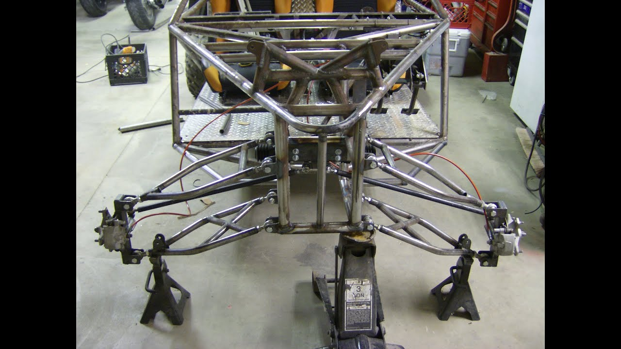 LONG TRAVEL DUNE BUGGY BUILD SAND RAIL chassis with MOTORCYCLE ...