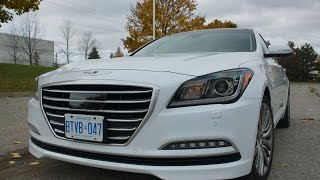 2015 Hyundai Genesis 5.0 Ultimate - Review