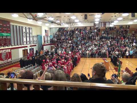 2018 Hoquiam High School Graduation Ceremony (Part 1).