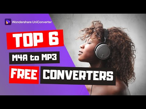 Top 6 Free M4A to MP3 Converters