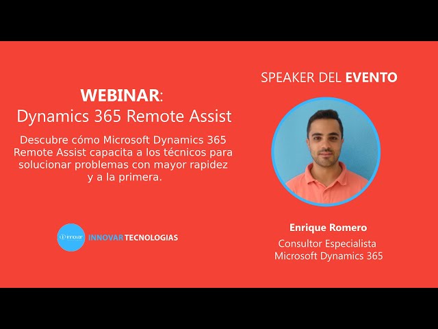 Webinar Remote Assist Dynamics 365