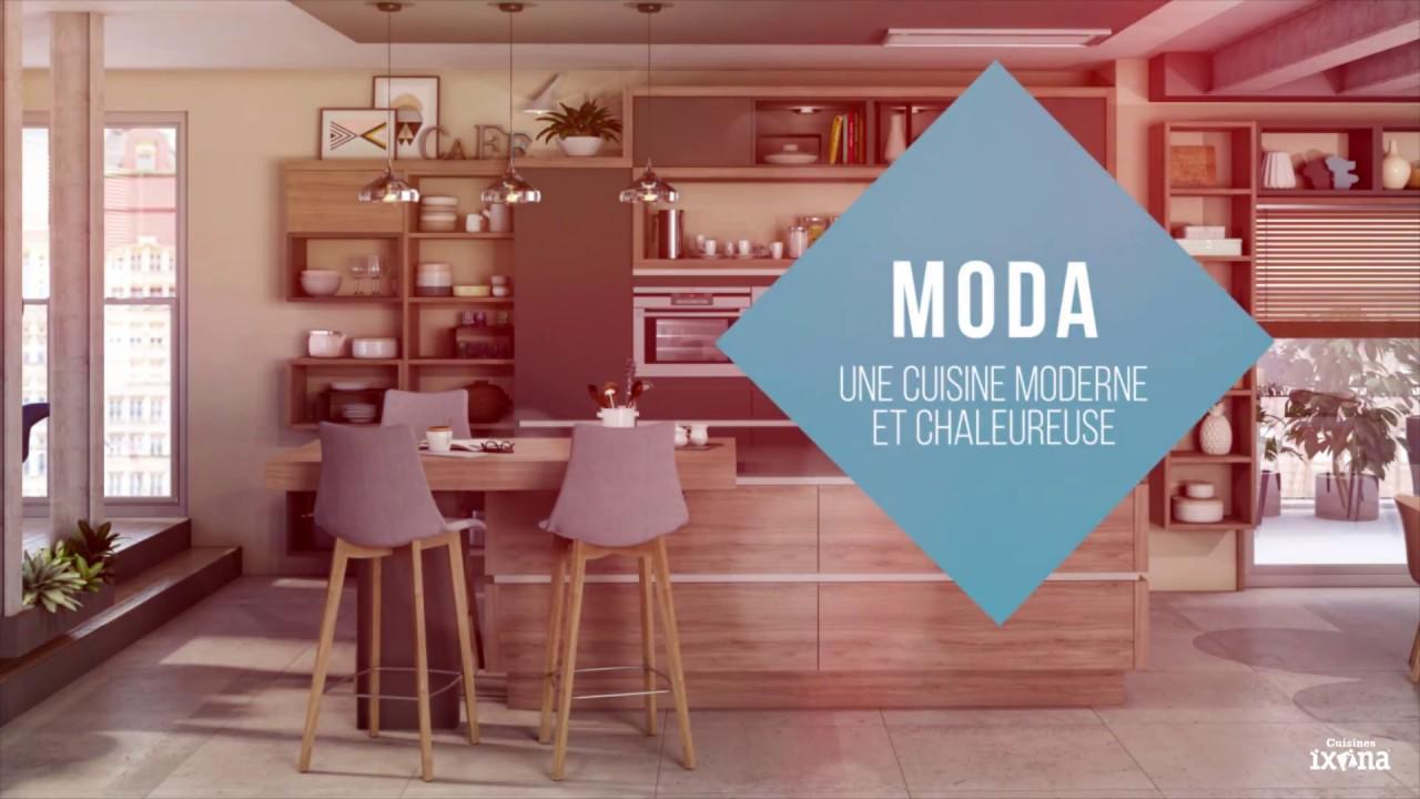 Gamme] MODA - la cuisine équipée contemporaine et chaleureuse - YouTube