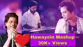 Gambar cover Hawayein / Daayre Cover Mashup | Aritra Banerjee & Shaon Mitra | A Small tribute to Shahrukh khan