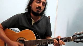 oru rathri koodi - malayalam song unplugged - vocal guitar impro