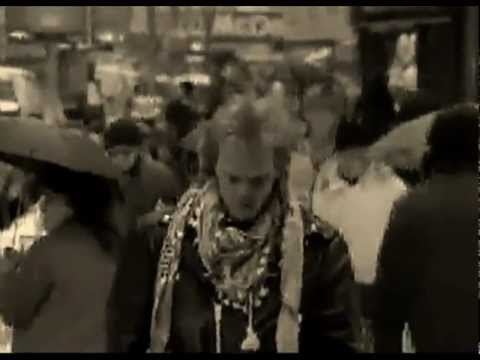 (Circa 1988) The Sharks - Only Time Will Tell (NYC Times Square Video Shoot) RIP Sam Lugar