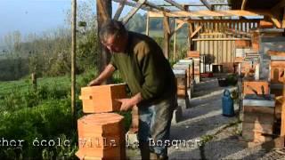 La ruche Warré ronde de Joël Macrel - l'apiculture naturel sans cadres en Normandie