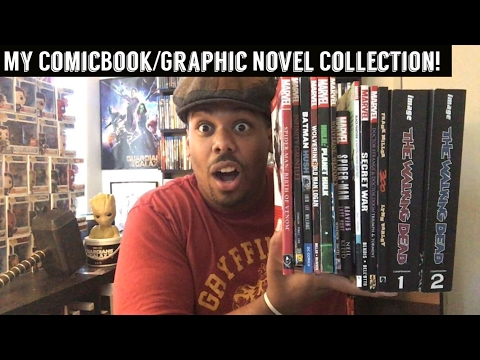 My ComicBook/Graphic Novel Collection!