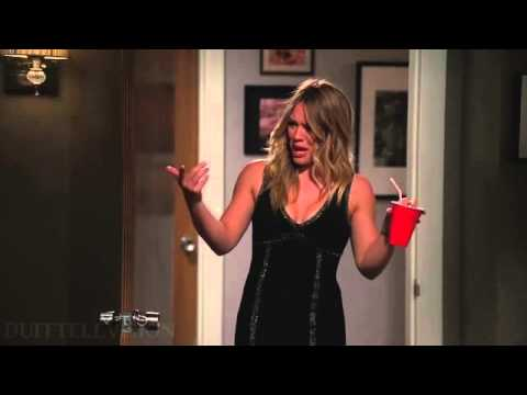 Hilary Duff on Two and a Half Men [3 of 3]