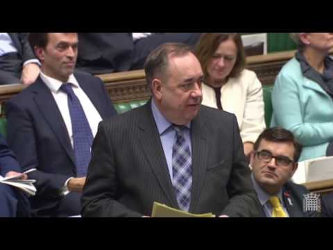 Alex Salmond MP, second reading of the EU (Notification of Withdrawal) Bill