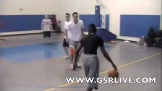 Aquile Carr as a 5-4 8th grader DUNKS