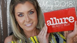 May 2018 Allure Beauty Box Unboxing | WILL I KEEP IT NOW? | Hot Mess Momma MD