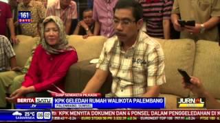 KPK Geledah Rumah Walikota Palembang