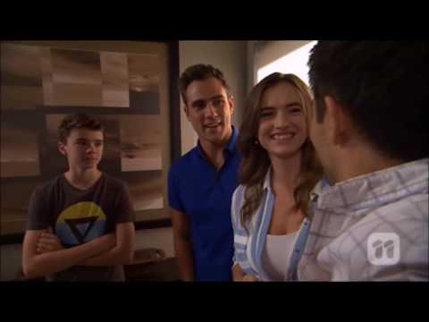 David, Aaron, Amy scene 2 ep 7650