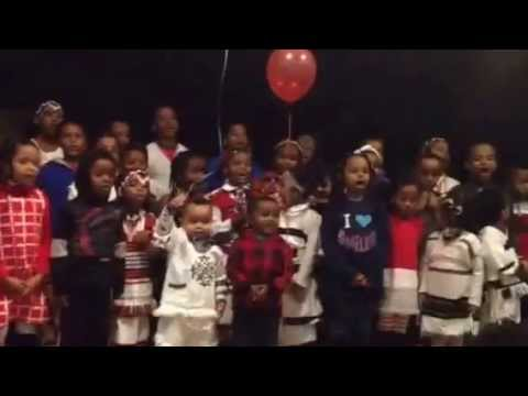 Oromo Children Sing at Afan Publications Books Launch, DC