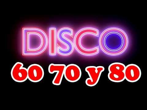 Musica Disco De Los 60 70 80 Mix En Ingles Exitos