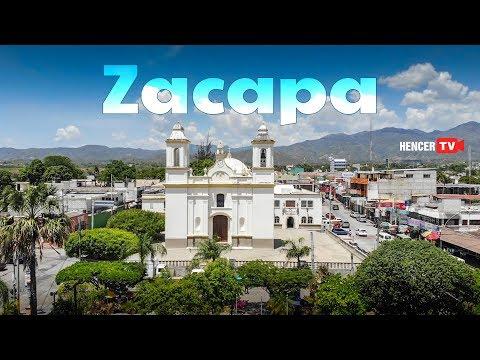 ZACAPA │VÍDEO AÉREO DE LA CIUDAD DE ZACAPA │ Tomas Aéreas del Centro del Municipio de Zacapa.