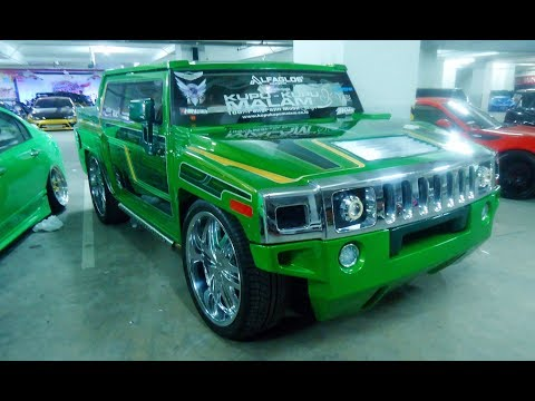 Extreme Cars Modified  !!! Isuzu Panther Custom Hummer H3 Replica