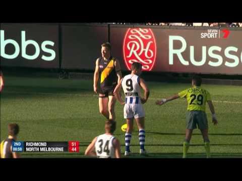 Week One AFL Finals - Richmond v North Melbourne Highlights