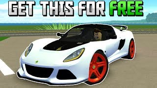 GET THIS *NEW* FREE CAR BEFORE ITS TOO LATE! (Roblox Ultimate Driving)