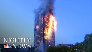 10 Days After Grenfell Tower Fire, A Scramble To Avoid Another Tragedy | NBC Nightly News