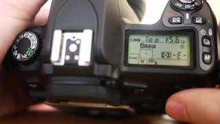 Tutorial Nikon D80