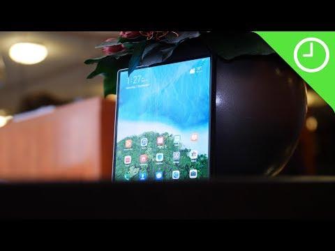 Huawei Mate X handson Pure elegance