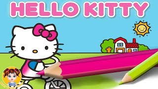 Hello Kitty Coloring Book - Cute Drawing Game for Kids