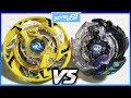 Maximus Garuda .8F.Fl vs Krusher Doomscizor .2V.Hn - Beyblade Burst Hasbro ベイブレードバースト