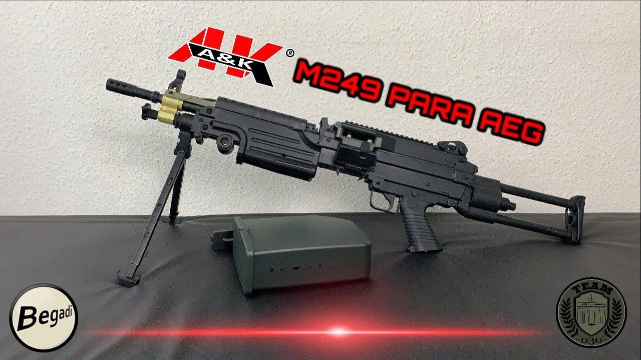 [REVIEW] A&K M249 PARA LMG AEG