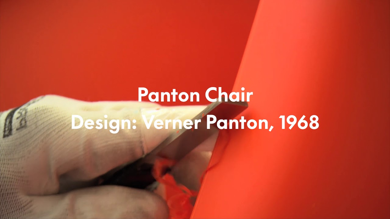 Vitra Chair Poster Celebrating 50 Years Of The Vitra Panton Chair
