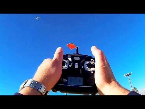Quadcopter Drone Trick, The Multi Flip