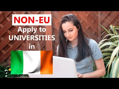 NON-EU | Apply To Universities In Ireland | Step-by-step Guide