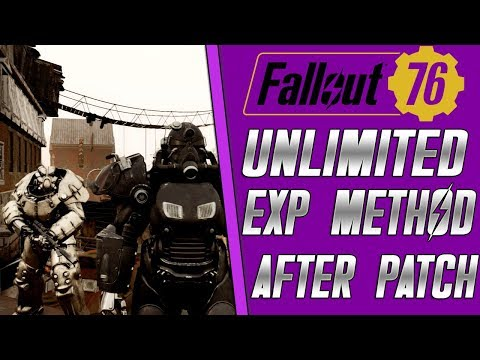 FALLOUT 76 - UNLIMITED XP/MATERIALS METHOD |EASY REARE MATERIALS| EASY XP METHOD(AFTER PATCH) thumbnail