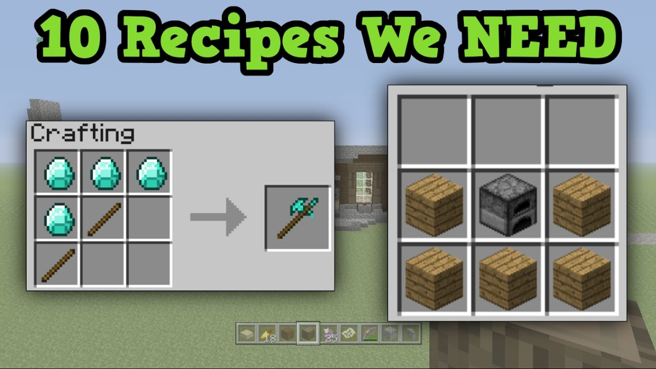 Minecraft   Arrow Crafting Recipes