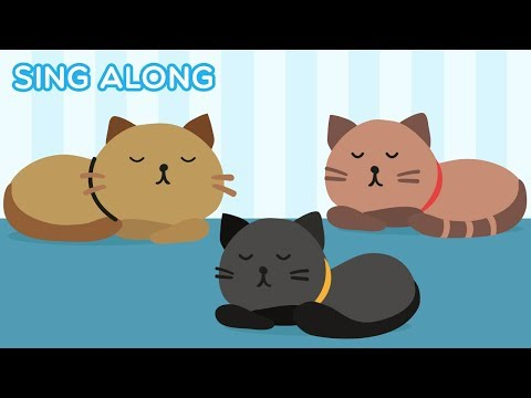 Three Little Kittens Lost their Mittens SING A LONG Kids Song - Songs for Children KARAOKE